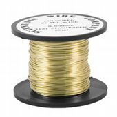 Supa Champagne 0.71mm 14 metre Craft Wire Reel
